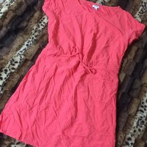 OLD NAVY Classic Shift Dress w Cinched Waist
